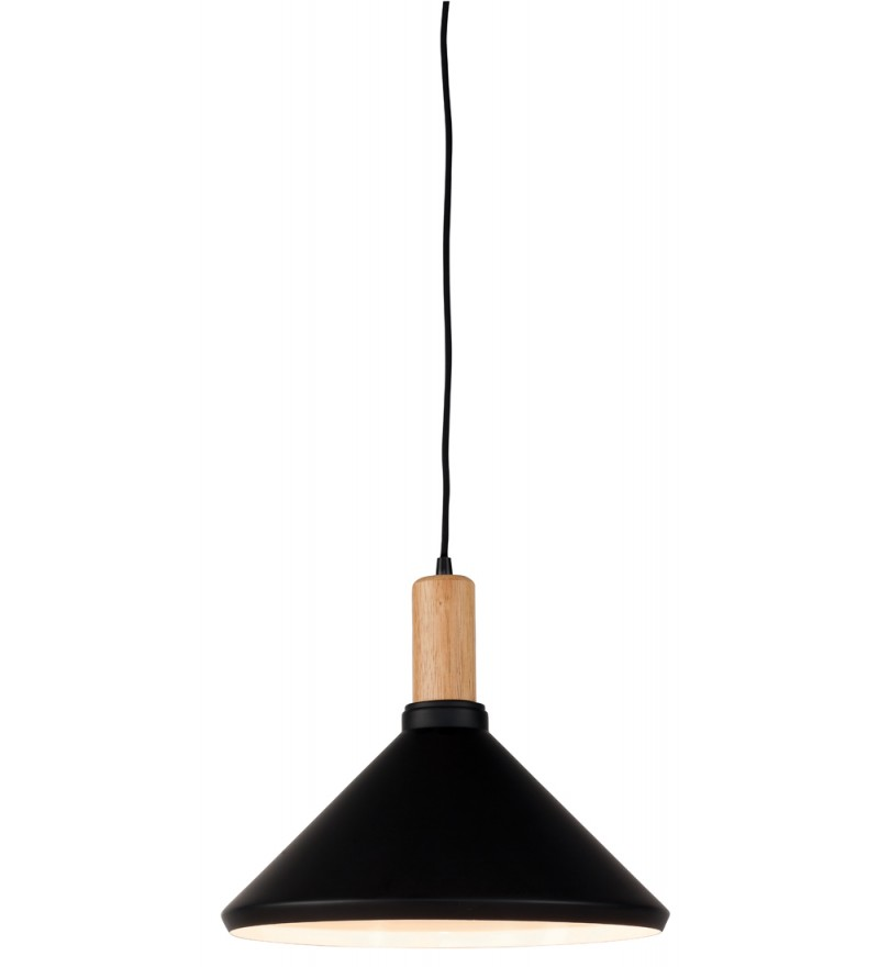 Lampa wisząca MELBOURNE It's about RoMi - czarna, wys. abażura 30 cm