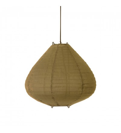 Lampa wisząca typu Lampion HK Living - 50 cm, kolor khaki brown