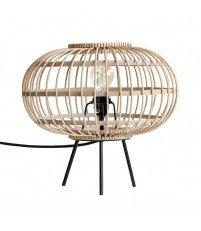 Lampa stołowa HK Living - bambusowa