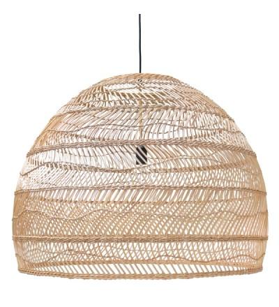 Lampa wisząca wiklinowa HK Living - rozmiar L
