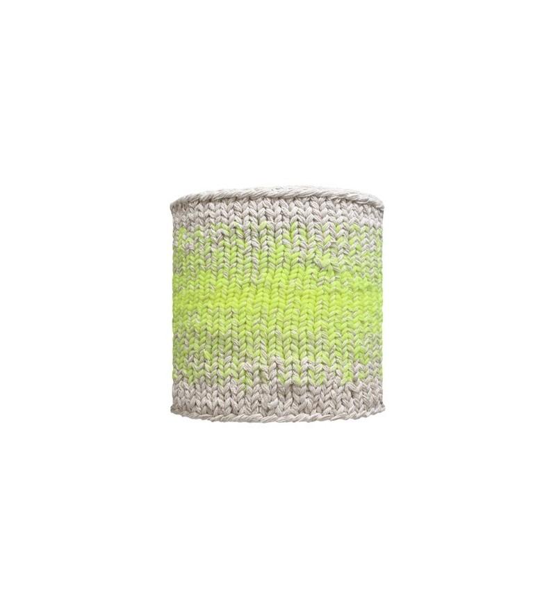 Abażur dziergany do lampy stojącej HK Living - średnica 31 cm
