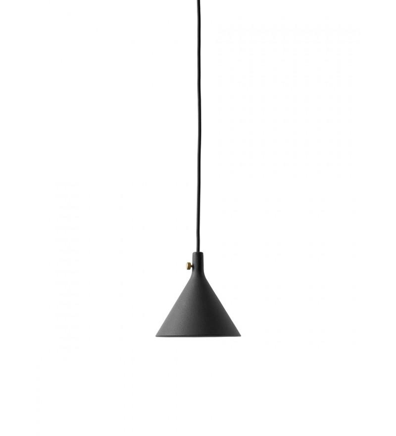 Lampa wisząca Cast 1 Menu - czarna
