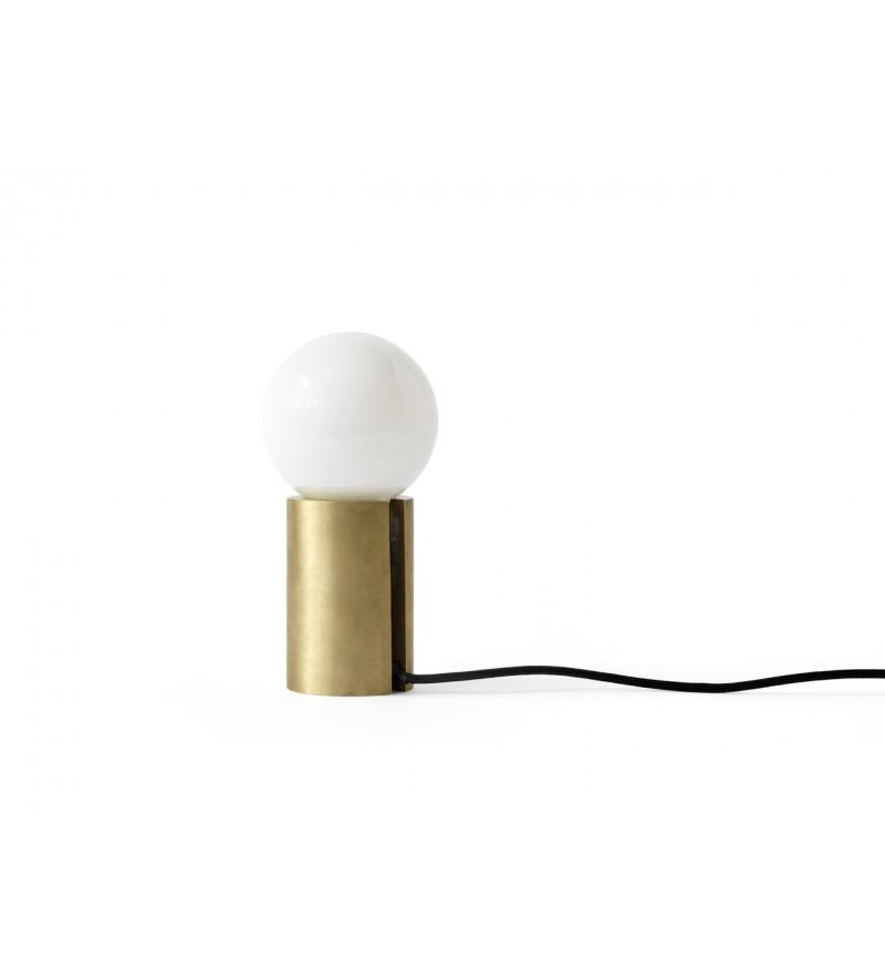 Lampa stołowa Socket Occasional Menu - mosiężna