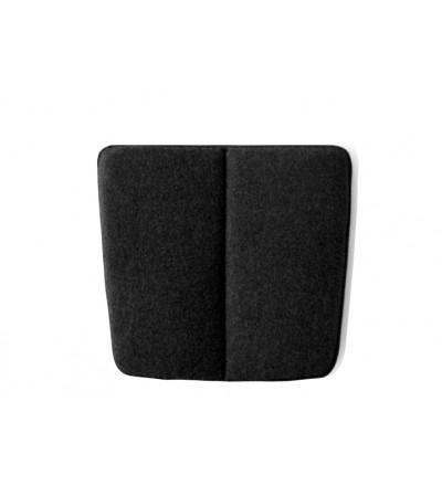 Poduszka WM String Lounge Cushion Menu - ciemnoszara, wersja do wnętrza