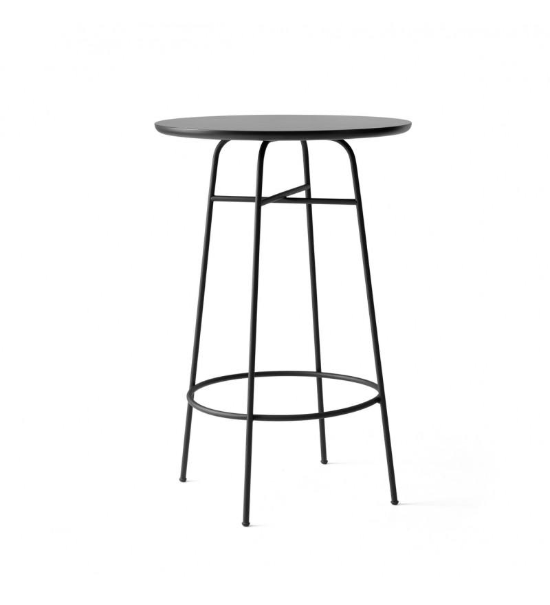 Stolik Bar Afteroom Menu - czarny laminat