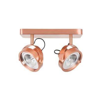 Lampa Spotlight DICE-2 LED miedziany