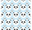 Tapeta PANDA KIDS ONWALL - COLOR BABY BLUE