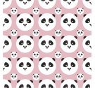 Tapeta PANDA KIDS ONWALL - COLOR BABY PINK