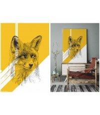 Grafika na płótnie Canvas FOX ONWALL - COLOR 01, 50x70cm