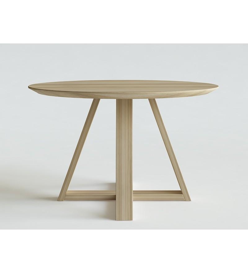 Bardzo dobryFantastyczny Stół FLOW OKRĄGŁY IWONA KOSICKA DESIGN - dębowy, różne wymiary MK85