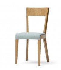Krzesło tapicerowane Era TON - buk + tkaniny standard, luxus, exclusive