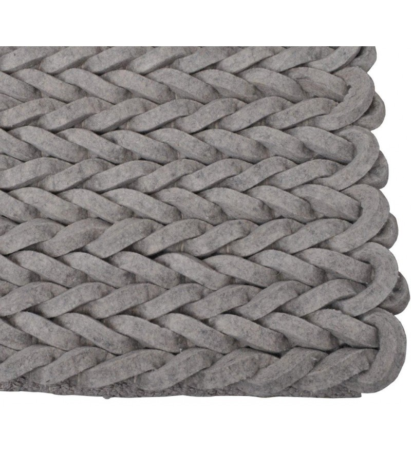 Dywan Ręcznie Pleciony Nienke Zuiver Różne Rodzaje Pufa