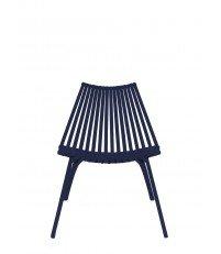 Krzesło LOTOS POLITURA - niebieskie