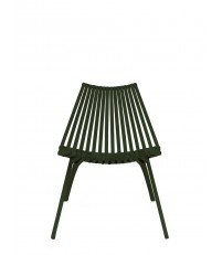 Krzesło LOTOS POLITURA - green
