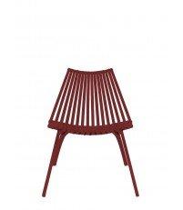Krzesło LOTOS POLITURA - red