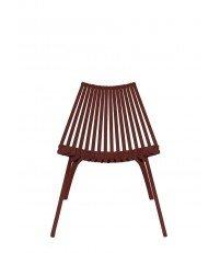 Krzesło LOTOS POLITURA - ciemnoczerwone (redberry)