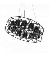 Lampa Multilamp Ring Seletti - czarna