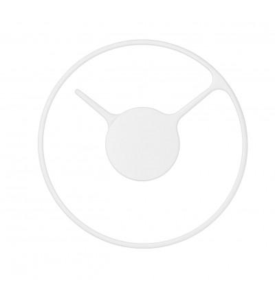 Zegar ścienny Stelton - biały, rozmiar M