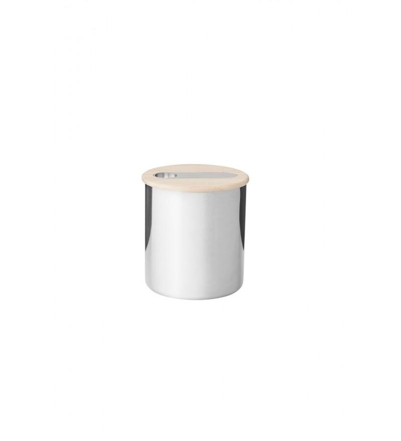 Pojemnik na herbatę Scoop Stelton - 0,3 kg, stalowy