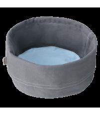Stelton Classic chlebak - torba na pieczywo ciemnoszaro-niebieska