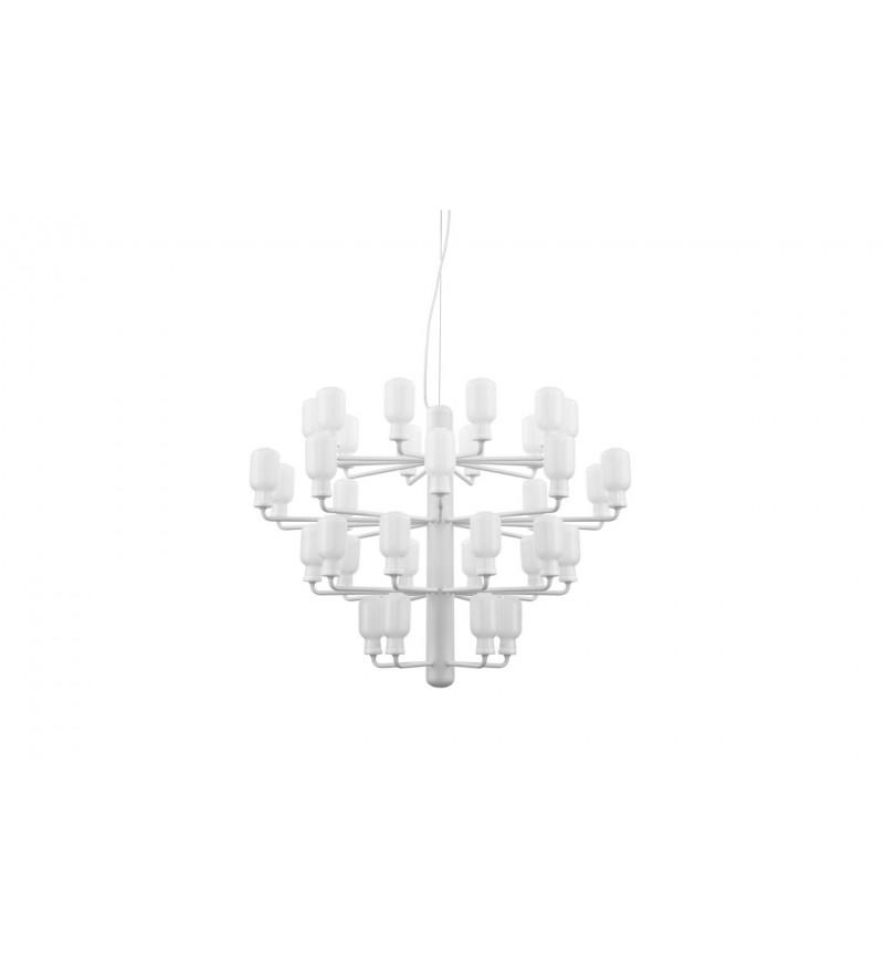Żyrandol AMP Normann Copenhagen - duży, white/white