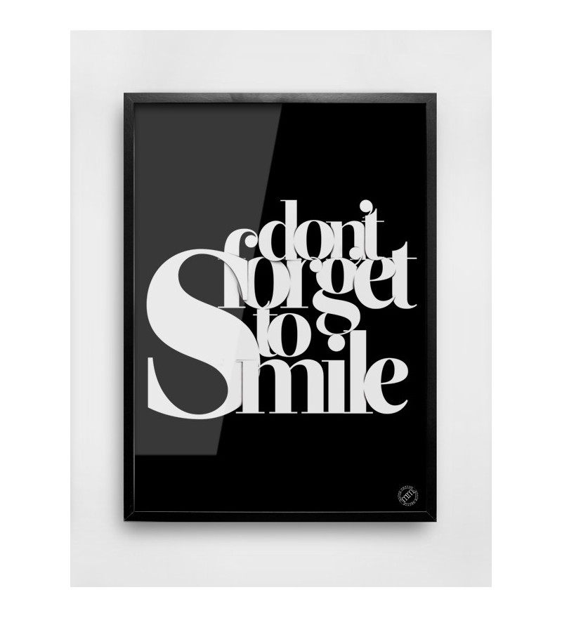 Plakat SMILE MM House Design - różne rozmiary