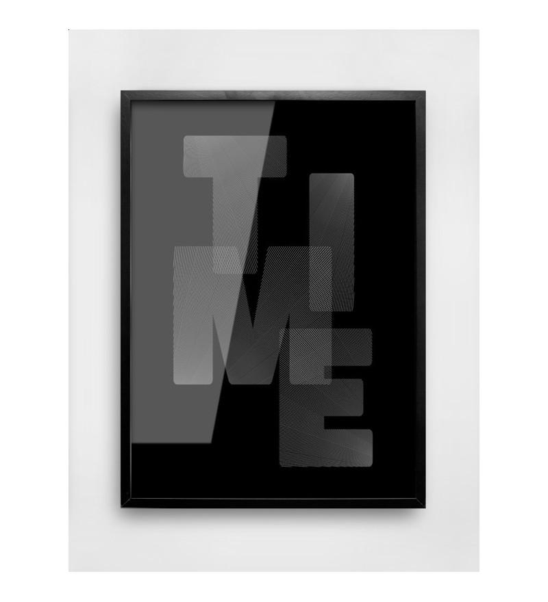 Plakat TIME MM House Design - różne rozmiary