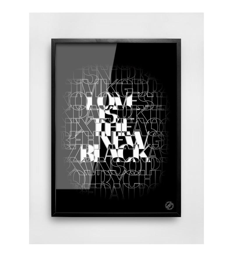 Plakat NEW BLACK MM House Design - różne rozmiary