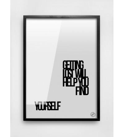 Plakat LOST MM House Design - różne rozmiary