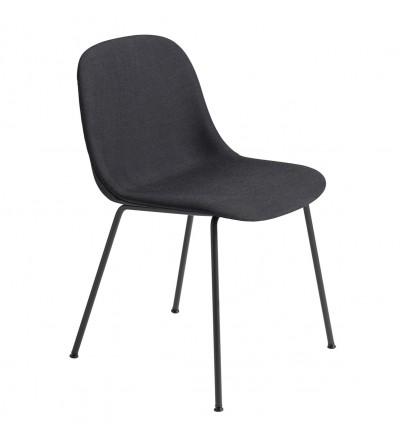 Krzesło tapicerowane Fiber Side Chair Tube Base Muuto - różne kolory