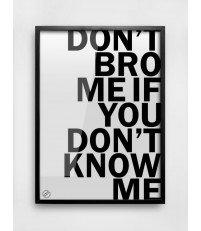 Plakat BRO MM House Design - różne rozmiary