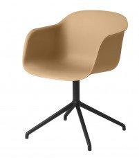 Krzesło Fiber Armchair Swivel Base Muuto - różne kolory