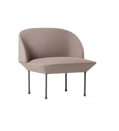 Krzesło tapicerowane OSLO LOUNGE CHAIR MUUTO - różne kolory