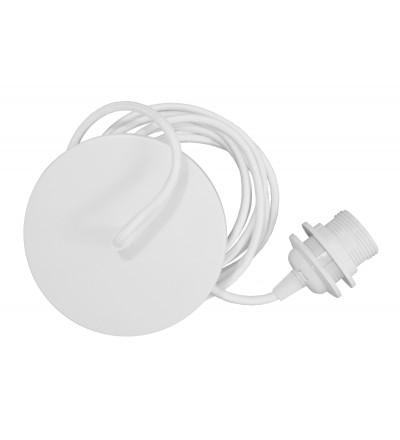 Zawieszenie do lamp Rosette UMAGE- biały oplot