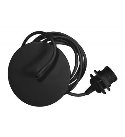 Zawieszenie do lamp Rosette UMAGE - czarny oplot