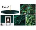 Lampa Asteria forest Vita Copenhagen - ciemna zieleń