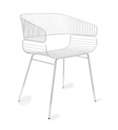 Krzesło TRAME Petite Friture - białe