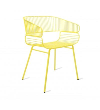 Krzesło TRAME Petite Friture - żółte