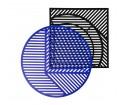 Stolik ISO A Petite Friture - niebieski
