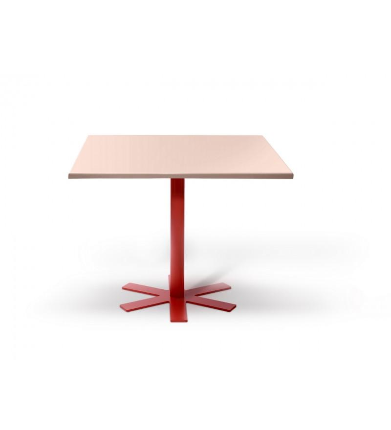 Stół PARROT Petite Friture - mały, jasnoróżowy