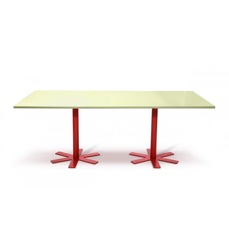 Stół PARROT Petite Friture - duży, jasnożółty