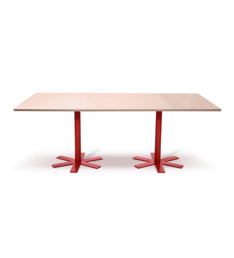 Stół PARROT Petite Friture - duży, jasnoróżowy
