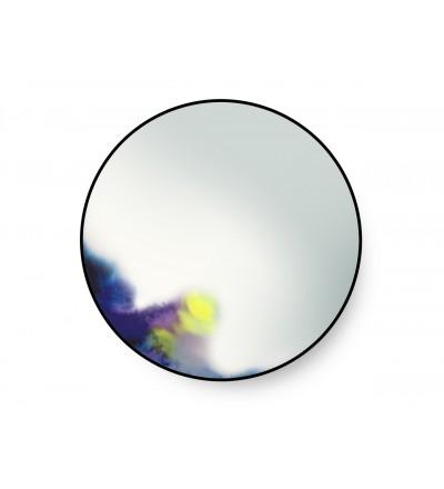 Lustro ścienne FRANCIS Petite Friture - duże, niebiesko-fioletowo-żółte
