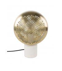 Lampa stołowa GRINGO ZUIVER - mosiężno - biała