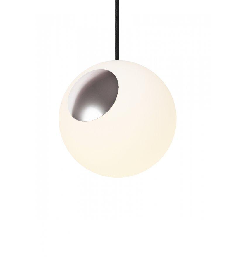 Lampa Bright Spot Chrome Nordic Tales  - aluminium + przewód czarny
