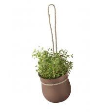 Doniczka na zioła GROW-IT RIG-TIG - terakotowa