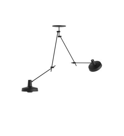 Lampa sufitowa ARIGATO CEILING 2 LONG - wydłużona, czarna