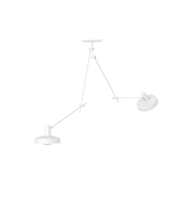 Lampa sufitowa ARIGATO CEILING 2 LONG - wydłużona, biała