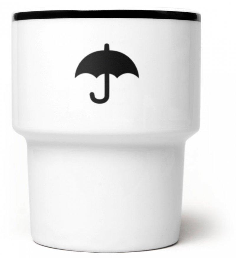 Kubek porcelanowy 'Parasolka' Mamsam - edycja limitowana