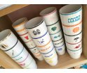 Kubek porcelanowy 'Rumianek' Mamsam - edycja limitowana